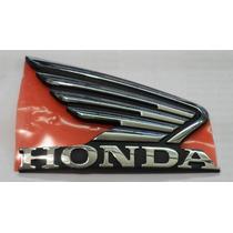 Logo Calco Tanque Insignia Derech Honda Invicta Centro Motos