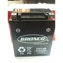 Bateria Original Bronco Ytx7lbs Tecnologia Agm Honda Twister