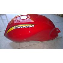 Tanque Guerrero Queen 125 Rojo Calco Guerrero Original