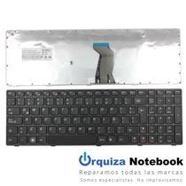 Teclado Lenovo Ideapad Z570 B570 B575 V570 - Sp Black