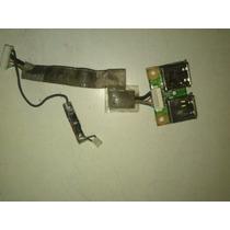 Usb + Cable Flex Para Notebook Compaq Presario V3000 Usado