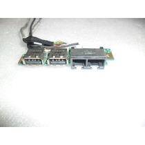 Placa Usb Y Cables Conectores Para Notebook Lg E500