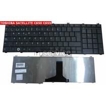 Teclado Notebook Toshiba C655 C655d C650 C650 C660 L650 L670