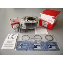 Kit Com Cilindro + Piston Mahle Brasil Honda Bross Ciclofox