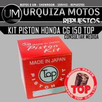 Kit Piston Top Honda Cg 150 Japon Um! Consulte Medida