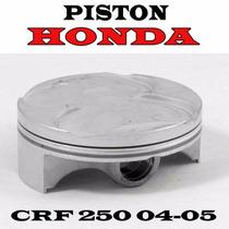 Pistón Honda Crf 250 04-05 Original Std Solo Fas Motos