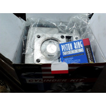Cilindro + Kit Piston Completo Wstd Para Yamaha Ybr 125