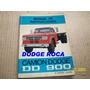 Manual De Instrucciones Dodge Camion Dd-900