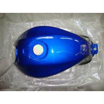 Tanque De Nafta Zanella Rx150 Azul Con Nego- Dos Ruedas Moto