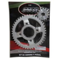 Kit Piñon Corona Zanella Ztt200 44x15 Paso 428 Gaona Motos!!