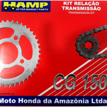 Kit Transmision Honda Cg150 Titan Hamp Original Centro Motos