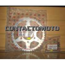 Kit Transmision Jt Japon Corona Y Piñon Er6n Kawasaki Oferta