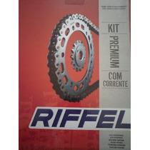 Kit Transmision Riffel Yamaha Ybr 125 En Emanuel Motos!!!!