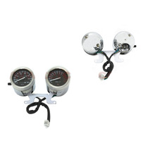 Tablero Completo 2 Relojes Custom Zanella/motomel/cerro 150