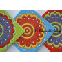 Azulejos Mayolicas Relieve Colores Vivos!