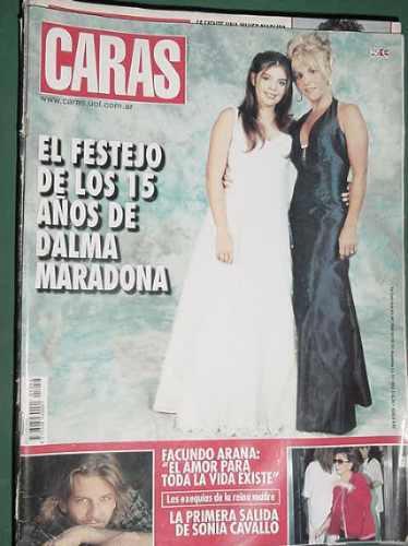 Revista Caras 1056 Maradona Arana Maria Vaner Laskarin