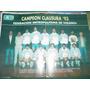 Poster Original Futbol Boca Juniors Campeones Clausura 1993