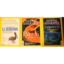 Lote 3 Revistas National Geographic