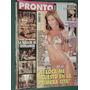 Revista Pronto 440 Natalia Oreiro Peña Cromagnon Callejeros