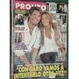 Revista Pronto 458 Mariana Arias Horacio Ferrer Maradona