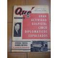 Revista Que - Sucedio En 7 Dias - 14 Abril 1959
