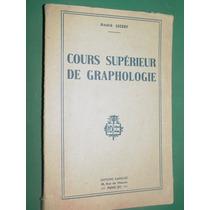 Libro Grafologia Cours Superieur Graphologie Andre Lecerf
