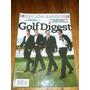 Lote 5 Revistas Golf Digest Año 2013 Pato Cabrera Y Otros