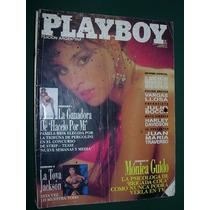 Revista Playboy Argentina 5/92 Monica Guido La Toya Jackson
