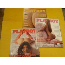 Revista Playboy Argentina #87 + 86 + 49 Brasil Hot Con Amor