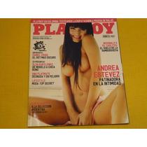 Revista Playboy Argentina #35 Nov 2008 Andrea Estevez