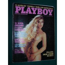 Revista Playboy Argentina 4/86 Orgasmo Fellatio Connors Sexo