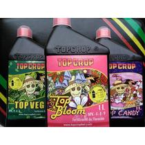 Combo Top Crop X 3 Veg, Bloom Y Candy De 1 Lt C/u - Almagro