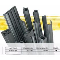 Burlete Parte T - Cerramientos Y Aluminio - Rollo 100 Mts.