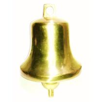 Campana De Bronce Mediana Para Casa Quintas, Escuelas, Hogar