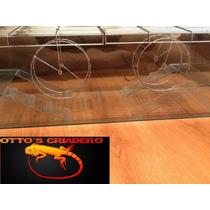 Hamstera Doble 60x22x22 Doble Rueda Ottos Criadero