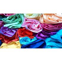 Tela Lienzo / Tusor Color - Varios Colores