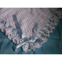 Manta Recibidora Crochet Bebe