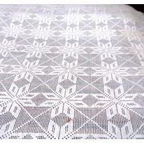 Colcha De 1 Plaza Italiana, Tejida Al Crochet
