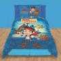 Cover Quilt + Funda Almohada Piñata Disney Jake Piratas