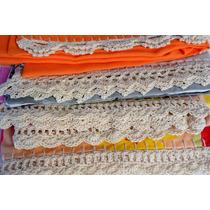 Fundas Para Almohadas - Terminación En Crochet