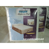 Cubre Protector Colchon King Size 160x200 Antialergico Meyer