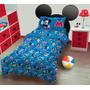 Acolchado Infantil Plaza 11/2 Mickey Letras Piñata Disney