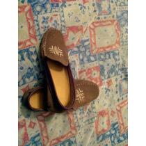 Zapatos De Mujer N 40 Tipo Mocasine Color Marron