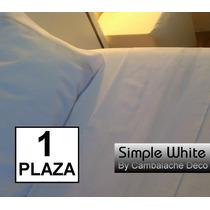 Sabanas Blancas Hoteleras 1 Plaza 180 Hilos Sw