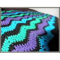 Mantas Tejidas Al Crochet A Mano
