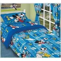Acolchado Infantil Mickey Mouse Y Kitty. Originales