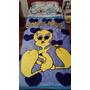 Frazada Manta De Mickey O Looney Tunes 140cm X 110cm