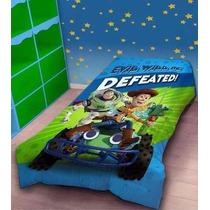 Acolchado + Sabanas Toy Story 1 Y 1/2 Plaza Piñata Disney