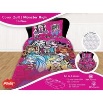 Cover Quilt+toallon+ Sabana Infantiles Piñata V/ Motivos
