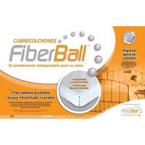 Cubrecolchon Fiberball 140x190 Esquinas Elastizadas